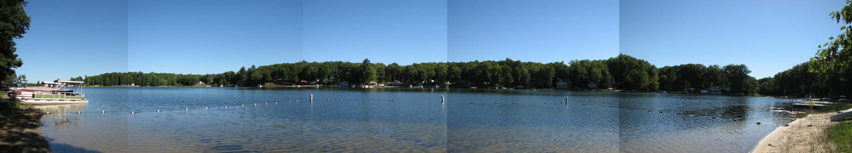 Rose Lake Forest Beach Composite